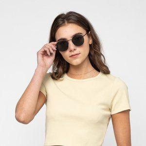 Oak + Fort Metal Frame Sunglasses 4512